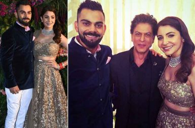 In Pics: Anushka Sharma-Virat Kohli wedding reception