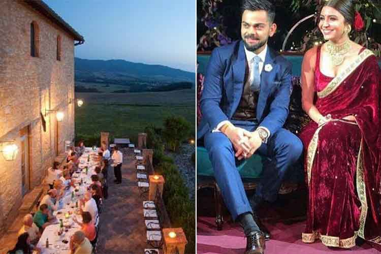 In Pics: Virat Kohli-Anushka Sharma's wedding venue