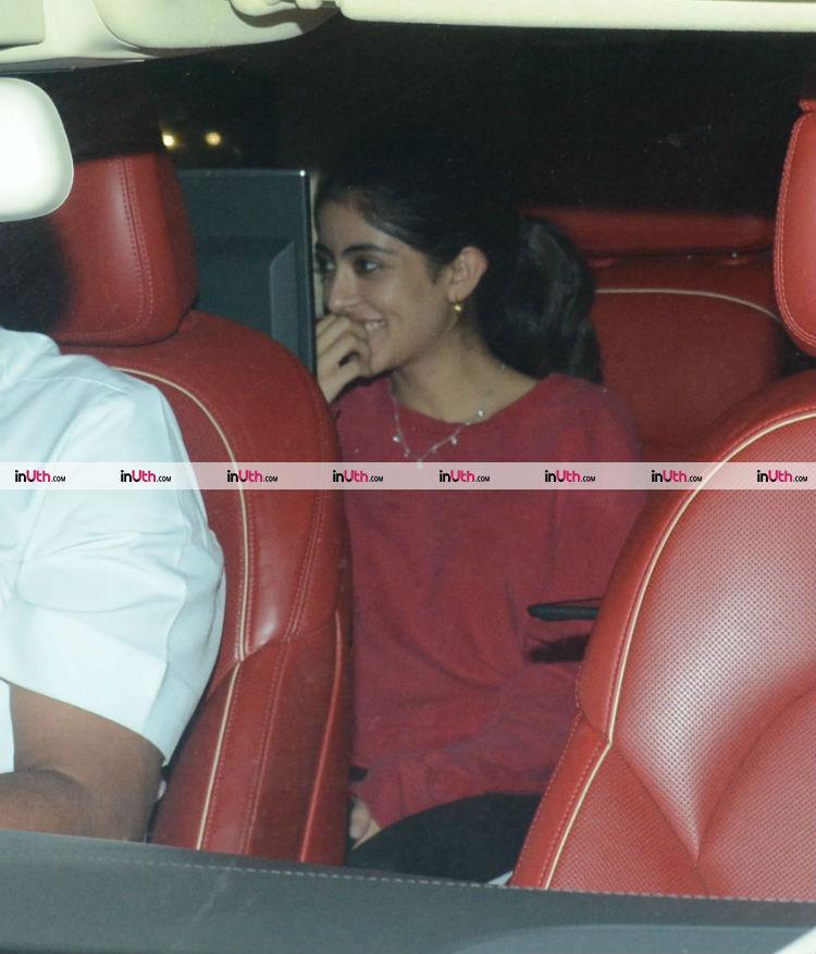 Navya Naveli Nanda at Farah Khan's birthday party