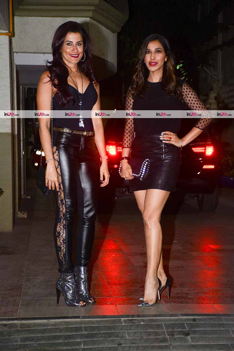 Yasmin Karachiwala and Sophie Choudry at Bipasha Basu's birthday party