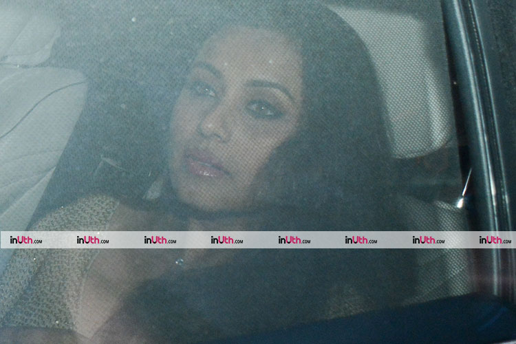 Rani Mukerji at Shah Rukh Khan's house for Kaajal Anand's birthday party