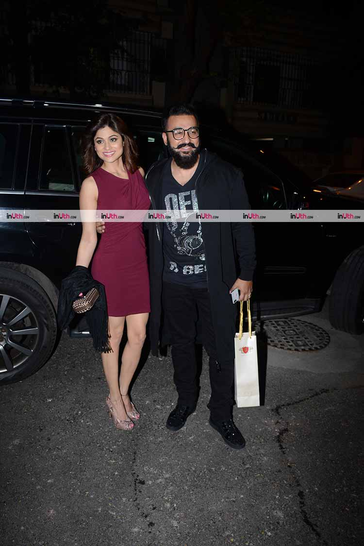 Shamita Shetty and Raj Kundra at Bipasha Basu's birthday party