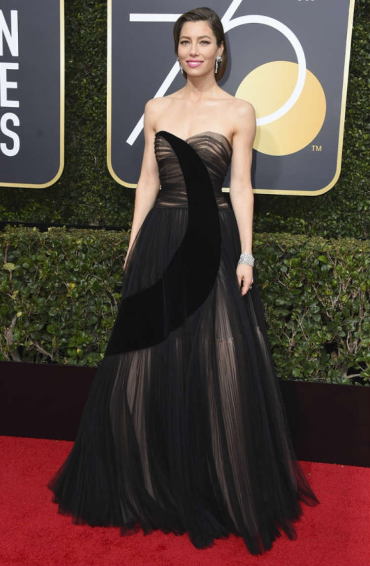 Jessica biel on golden globe awards 2018 red carpet golden globe awards 2018 photos - Golden globes red carpet ...