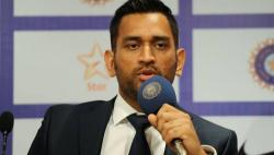 MS Dhoni reacts after India's Test series defeat against South Africa. Here's what he said