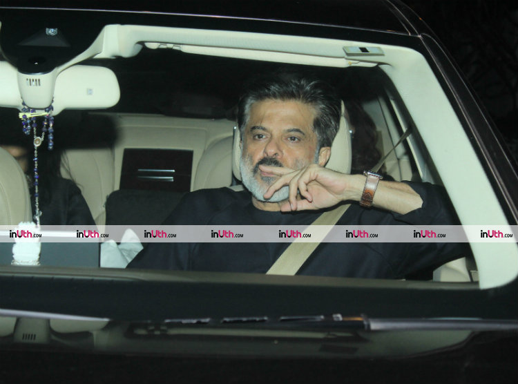 Anil Kapoor at Farah Khan's birthday dinner