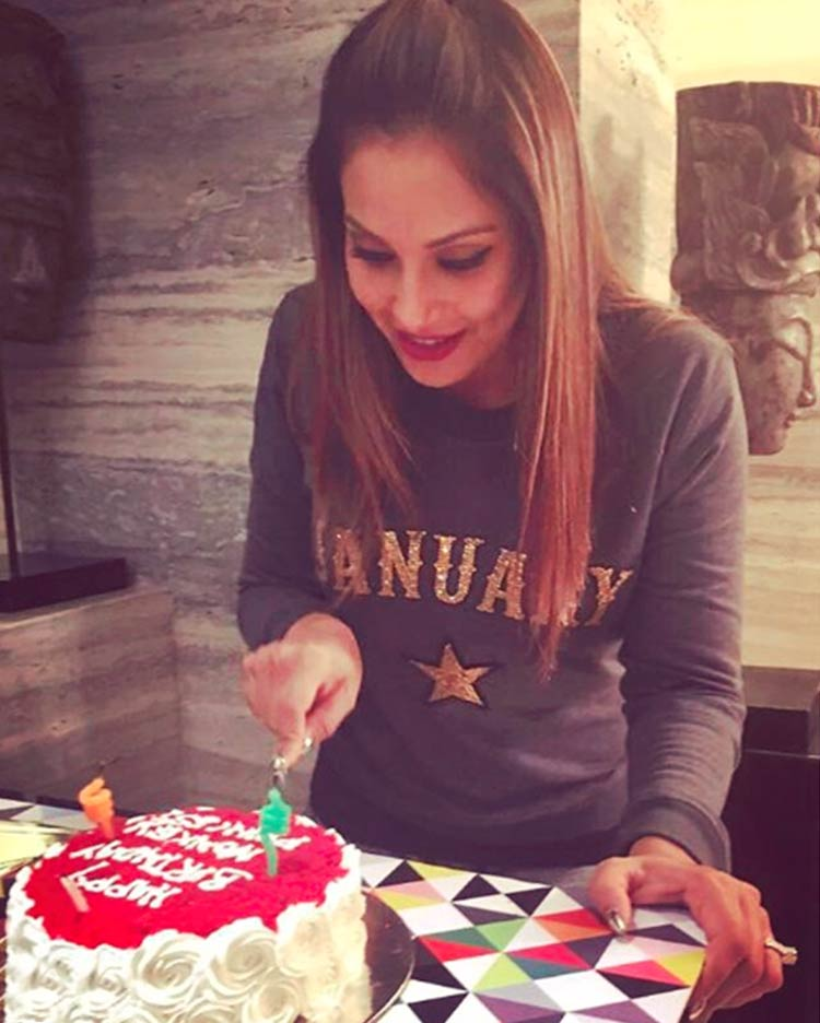 Bipasha Basu celebrating her 39th birthday
