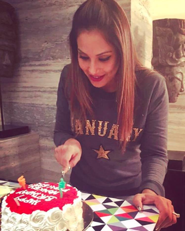 Bipasha Basu celebrating her 39th birthday