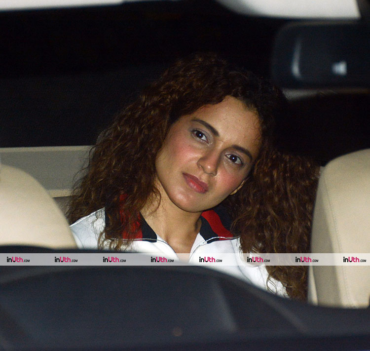 Kangana Ranaut snapped at the PadMan screening