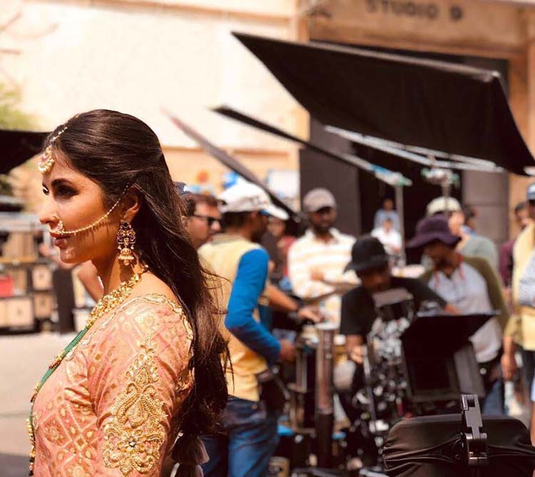 Katrina Kaif's candid pic from Zero sets
