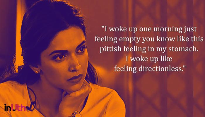 Deepika Padukone depression