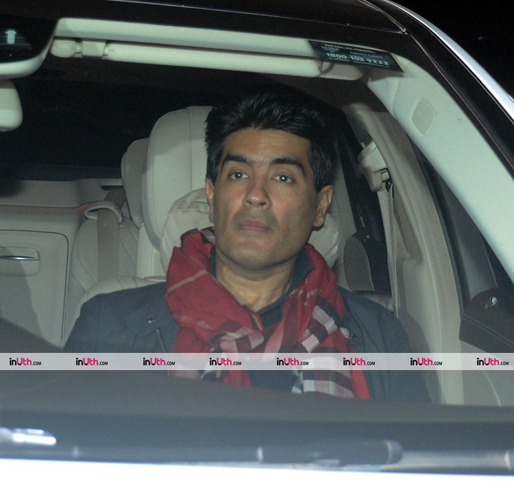 Manish Malhotra at PadMan special screening on February 8