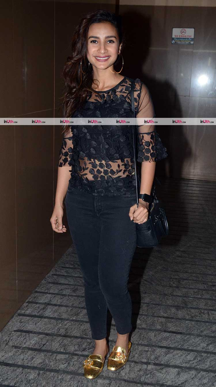 Patralekha at the special screening of Padmaavat on Wednesday
