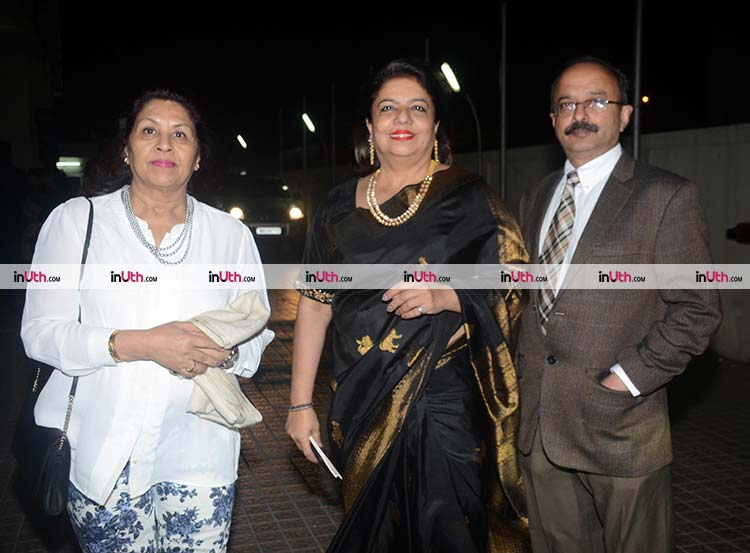 Madhu Chopra at the special screening of Padmaavat