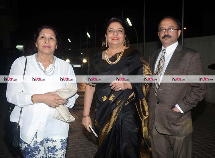 Madhu Chopra at the special screening of Padmaavat