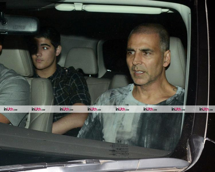 Aarav Bhatia at the special screening of PadMan on January 23