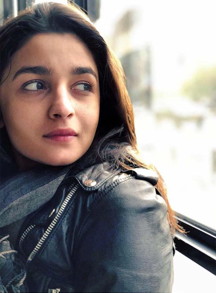 Alia Bhatt in a candid click from Tel Aviv, Israel