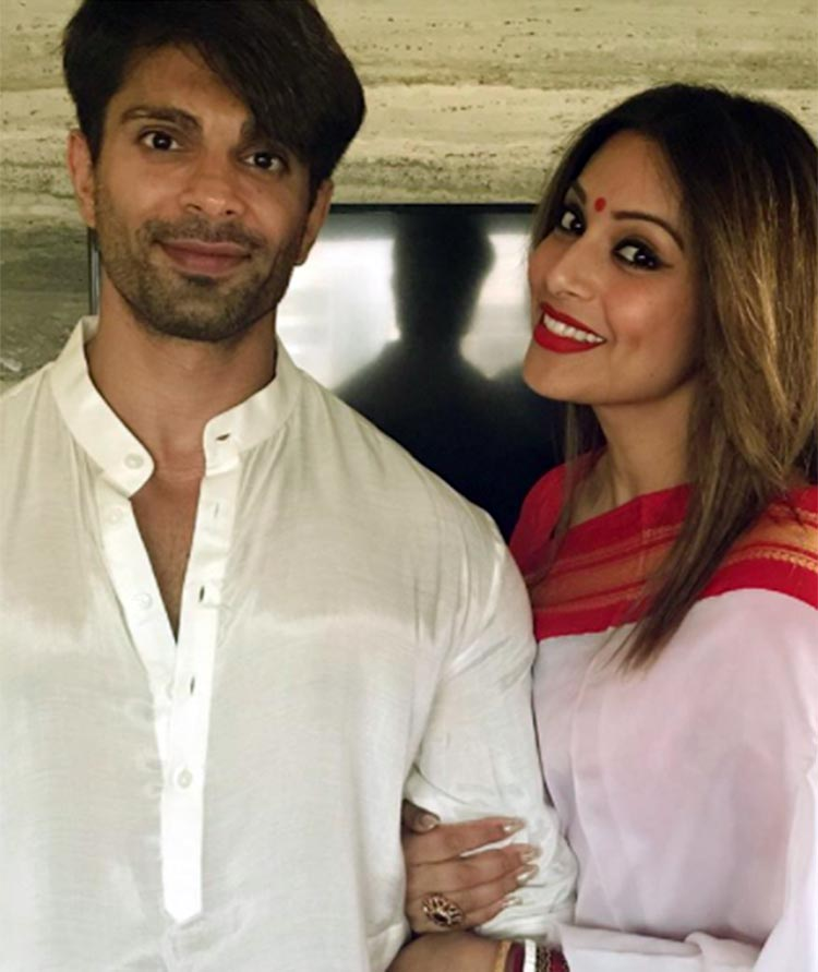 Karan Singh Grover and Bipasha Basu in traditional looks