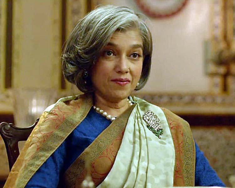 Ratna Pathak Shah as Nirmala Devi Rathore in Khoobsurat