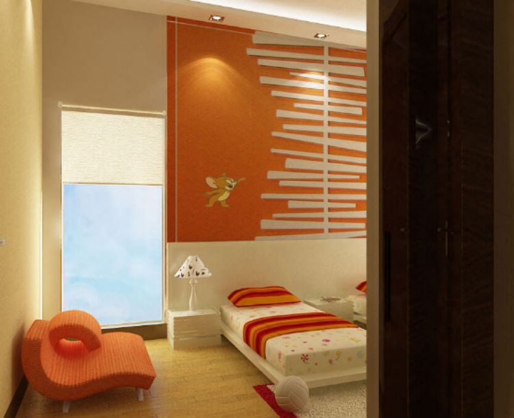 The kids room of Abhishek Bachchan and Aishwarya Rai's new apartment