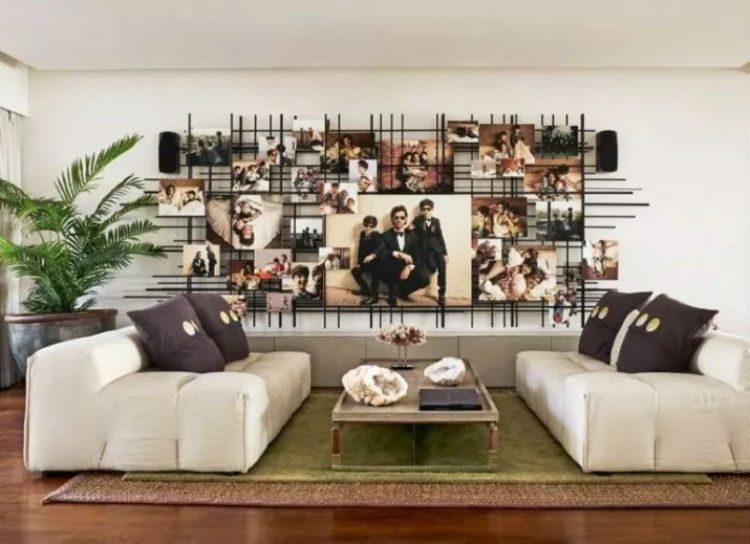 The living room of Hrithik Roshan's house gives a sneak-peek into his life