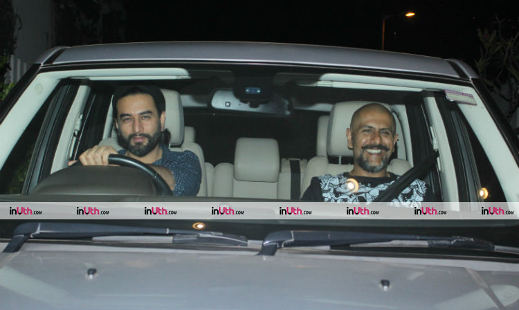 Vishal-Shekhar at Farah Khan's birthday dinner