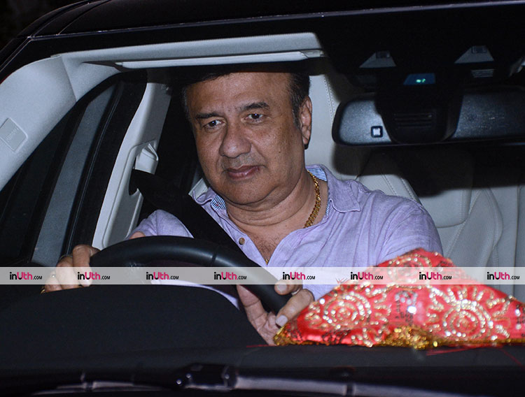 Anu Malik at the special screening of PadMan