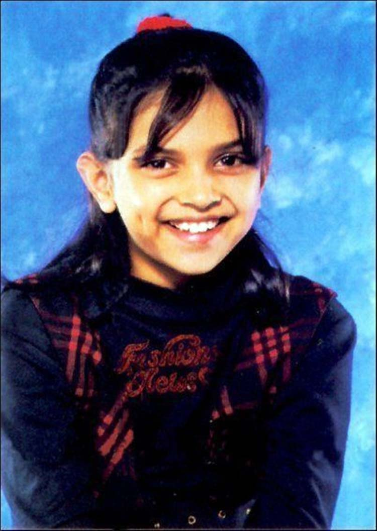 Deepika Padukone looks uber adorable in this childhood pic