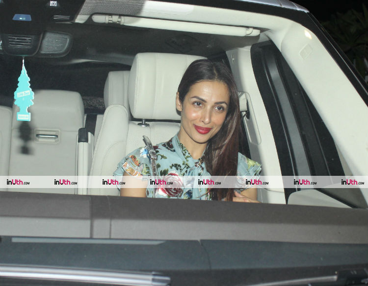 Malaika Arora at Farah Khan's birthday party