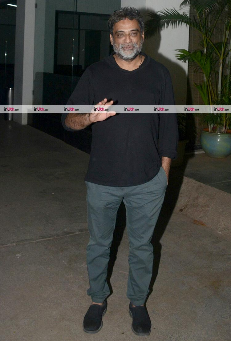R. Balki at the special screening of PadMan