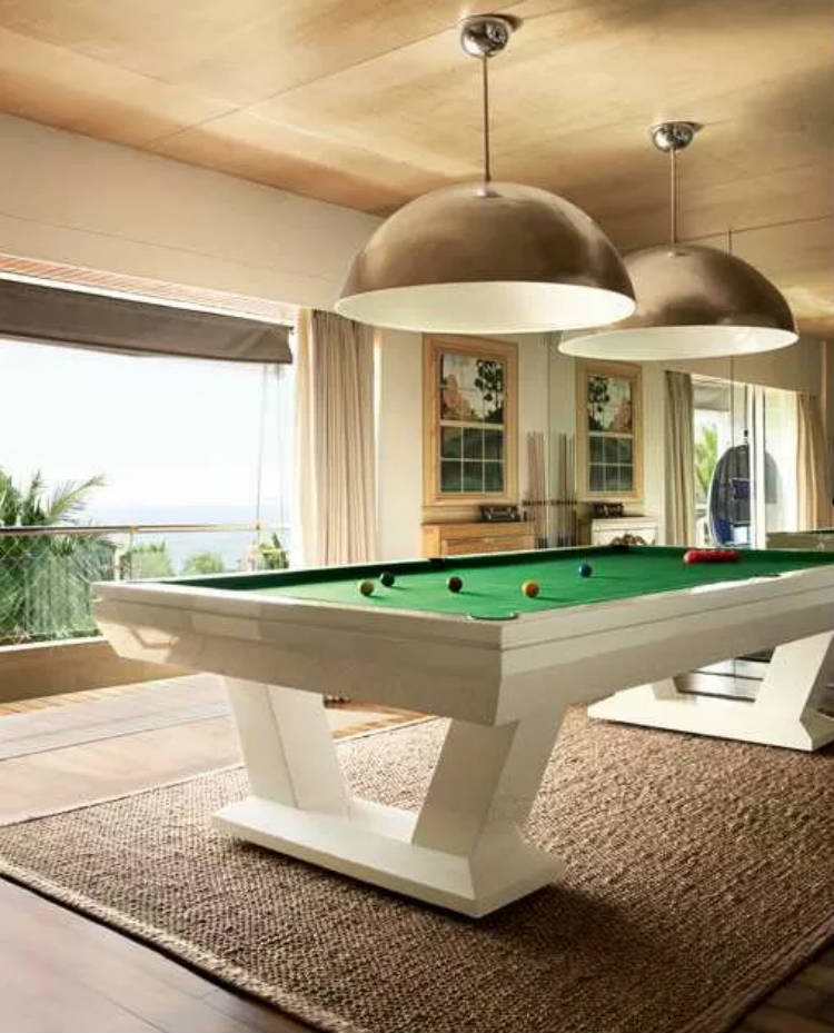 The pool table at Hrithik Roshan's house