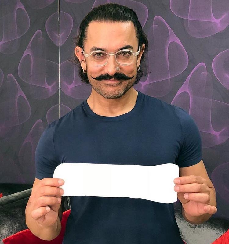 Aamir Khan takes the PadMan challenge