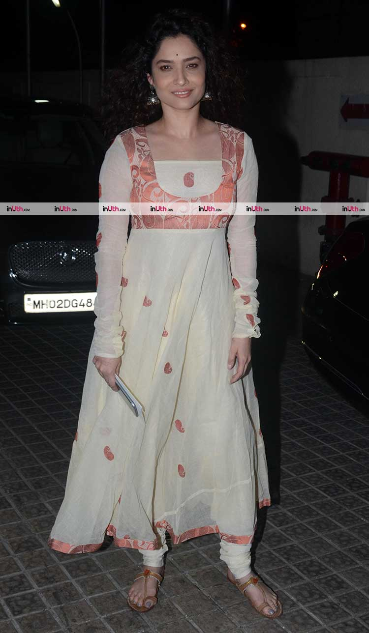 Ankita Lokhande at the screening of Padmaavat