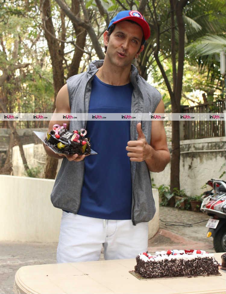 Hrithik Roshan celebrating his birthday
