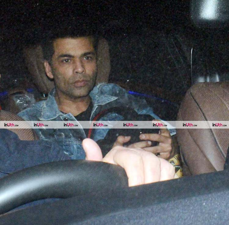 Karan Johar at the special screening of PadMan on February 8