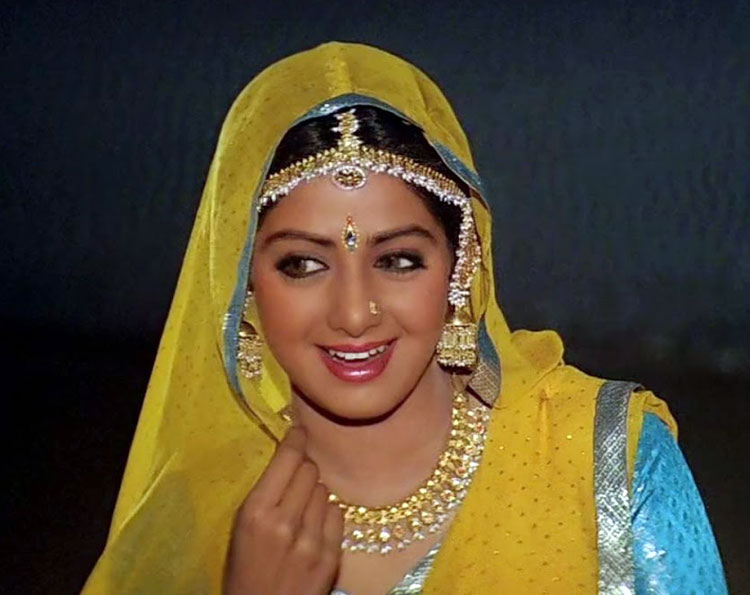 Sridevi as Pooja in Lamhe