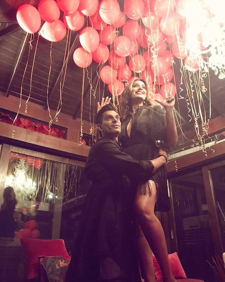 Bipasha Basu with husband Karan Singh Grover on her birthday