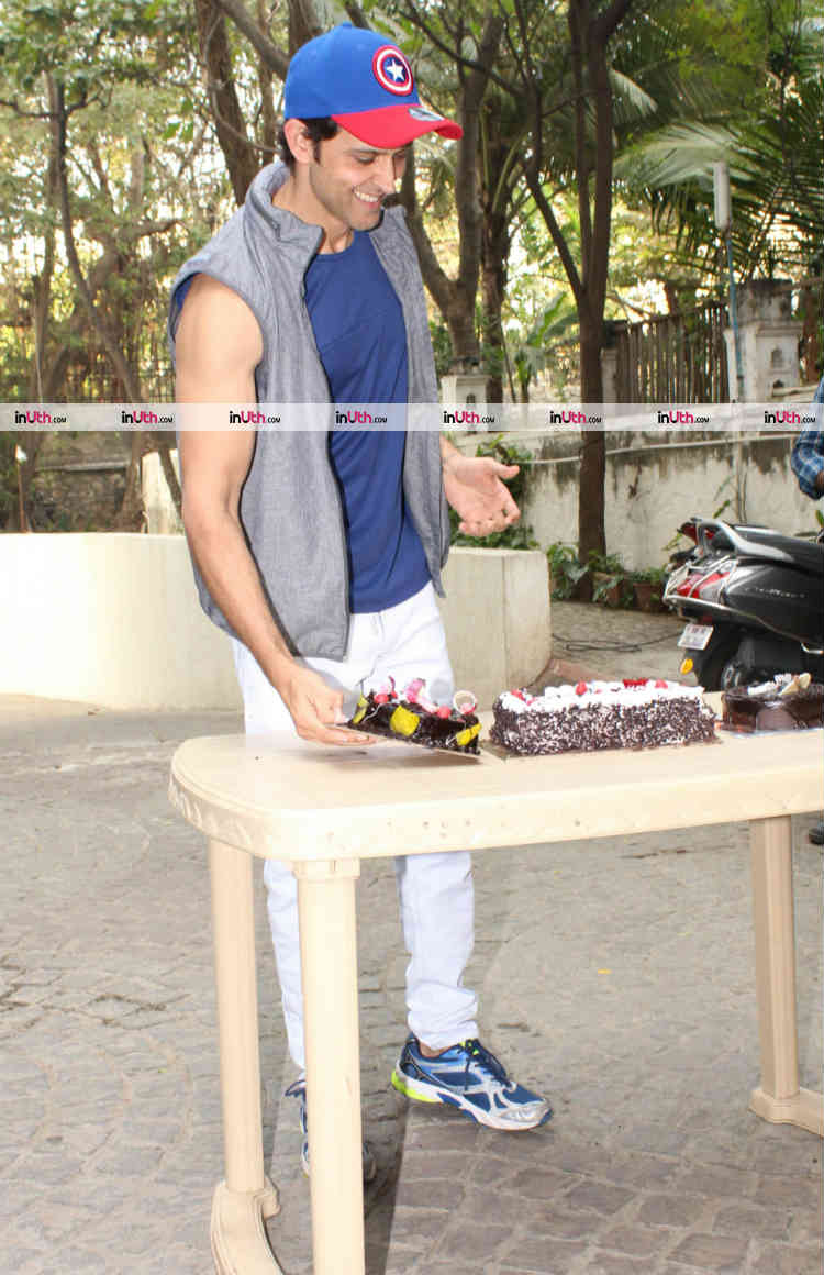 Hrithik Roshan snapped on his birthday