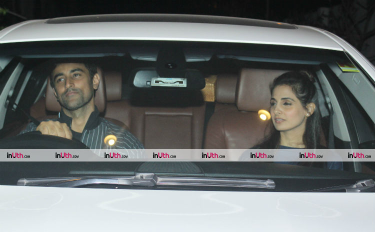 Kunal Kapoor and Naina Bachchan at Farah Khan's birthday party