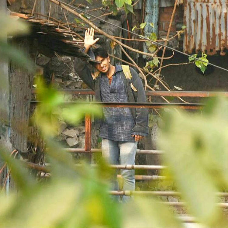 Ranveer Singh shoots for Gully Boy