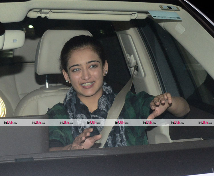 Akshara Haasan at the special screening of PadMan on February 8