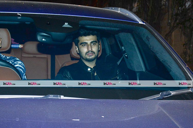 Arjun Kapoor at Shah Rukh Khan's house for Putlu's birthday