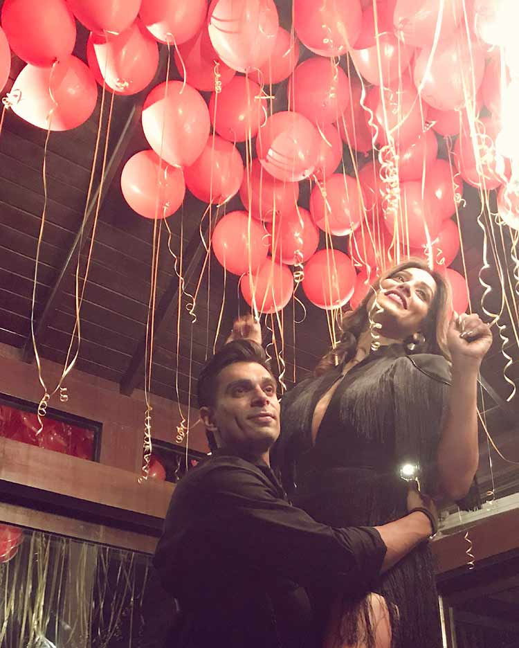Bipasha Basu thanks husband Karan Singh Grover for the big party