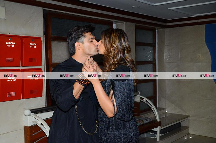 Bipasha Basu and Karan Singh Grover show some PDA