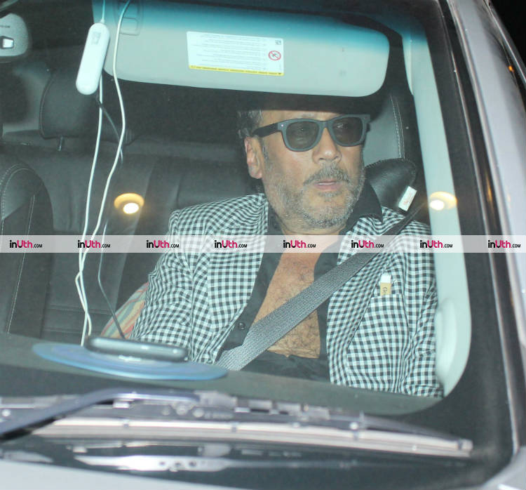 Jackie Shroff at Farah Khan's birthday party