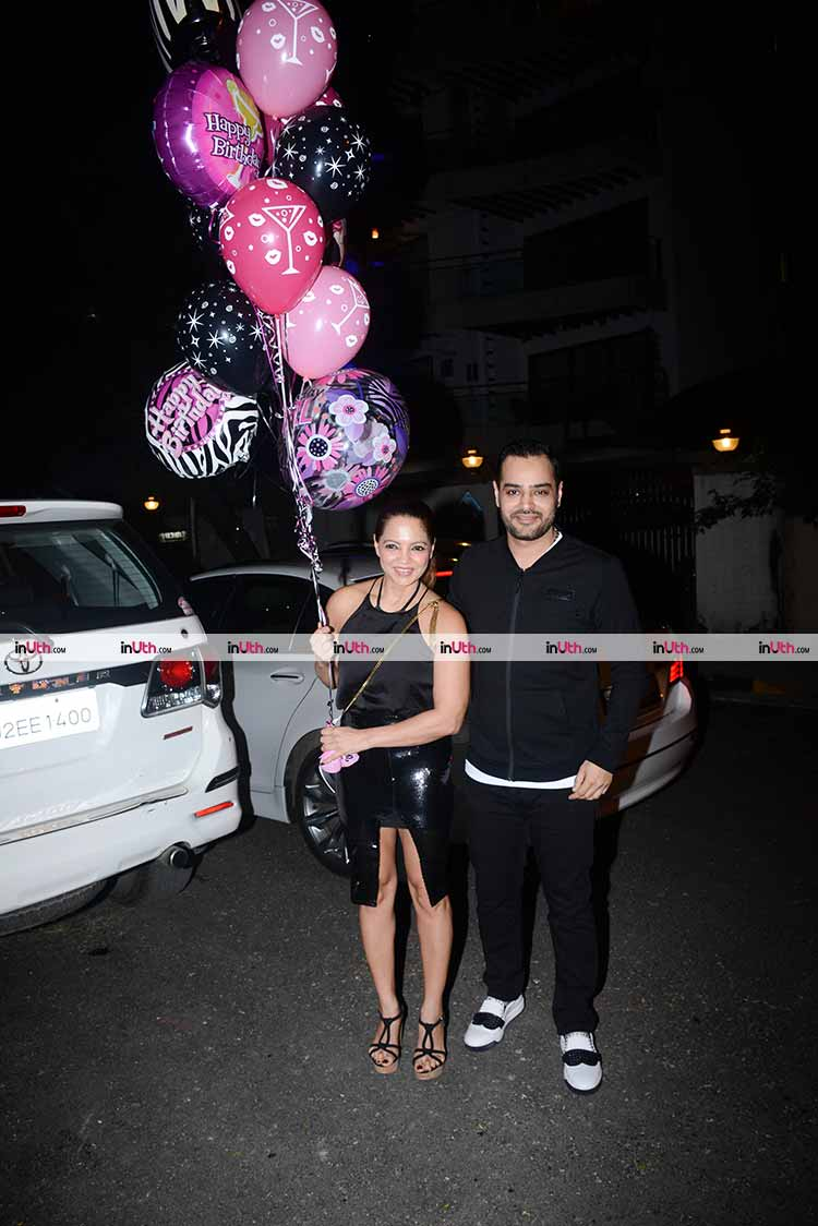 Deanne Pandey at Bipasha Basu's birthday party