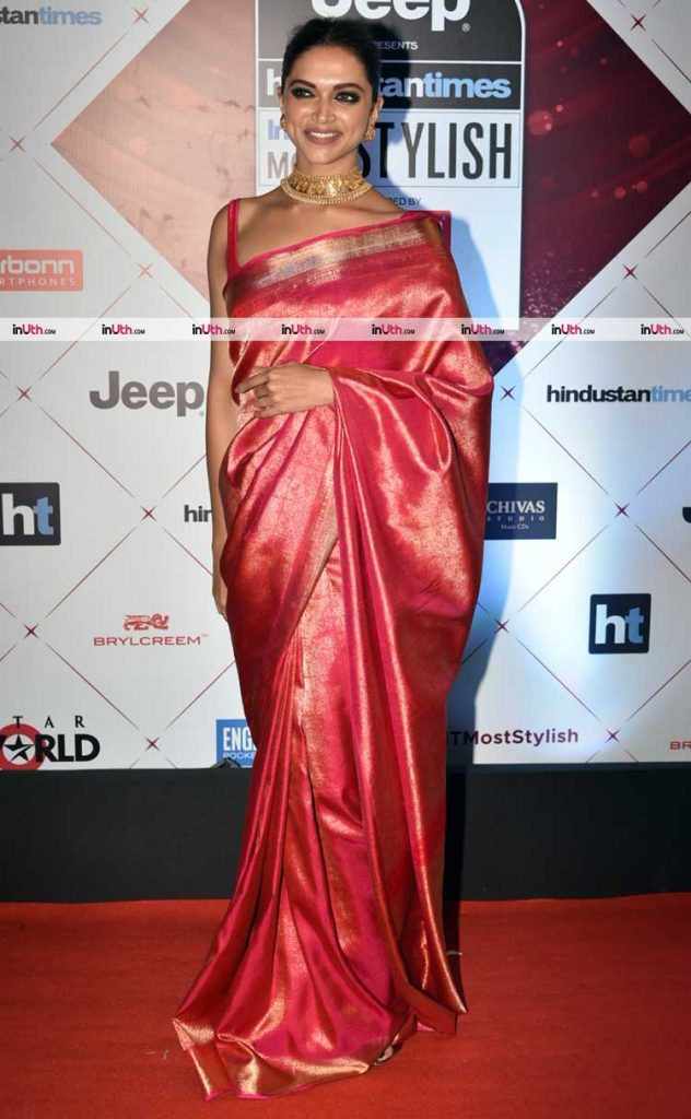 Deepika Padukone at HT Most Stylish Awards 2018