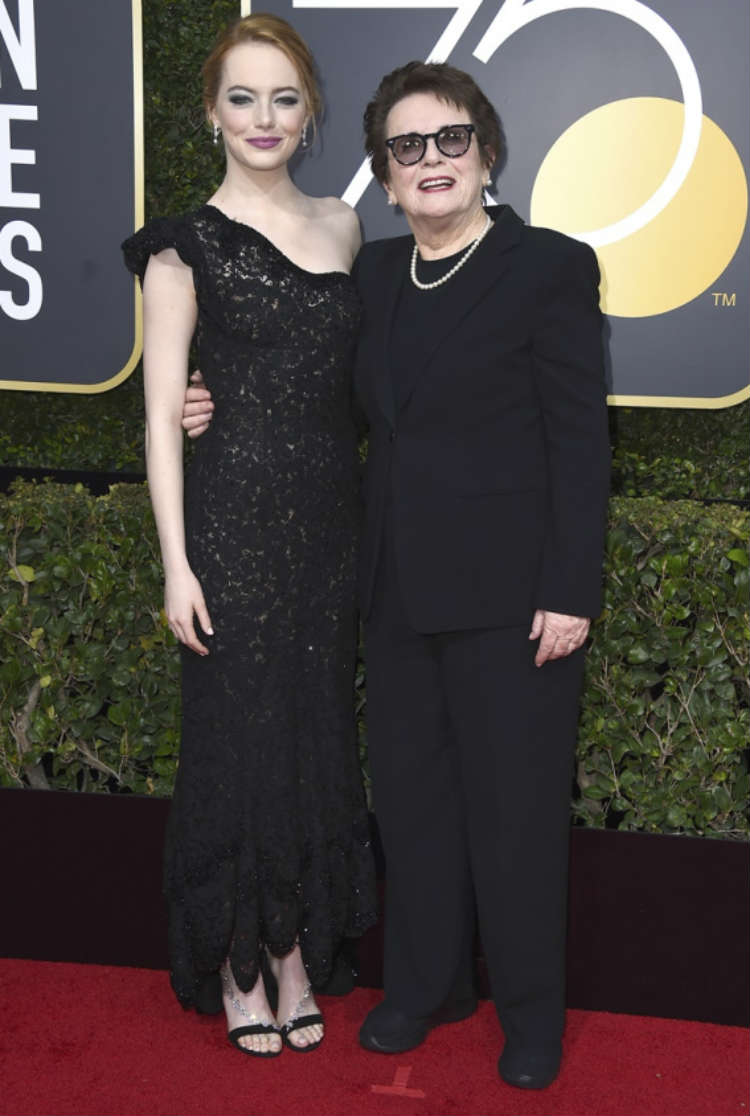 Golden Globe Awards 2018 photos Emma Stone Golden Globes
