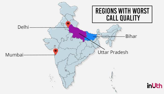 call drop, UP, Bihar, Delhi, Mumbai