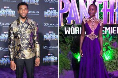 Black Panther, Purple carpet, Marvel Universe, Chadwick Boseman, Michael B Jordon, Lupita Nyong'o, African American culture, Ryan Coogler, Creed, Hollwyood, Oscars