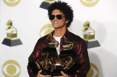 Bruno Mars, Grammy Awards, 2018